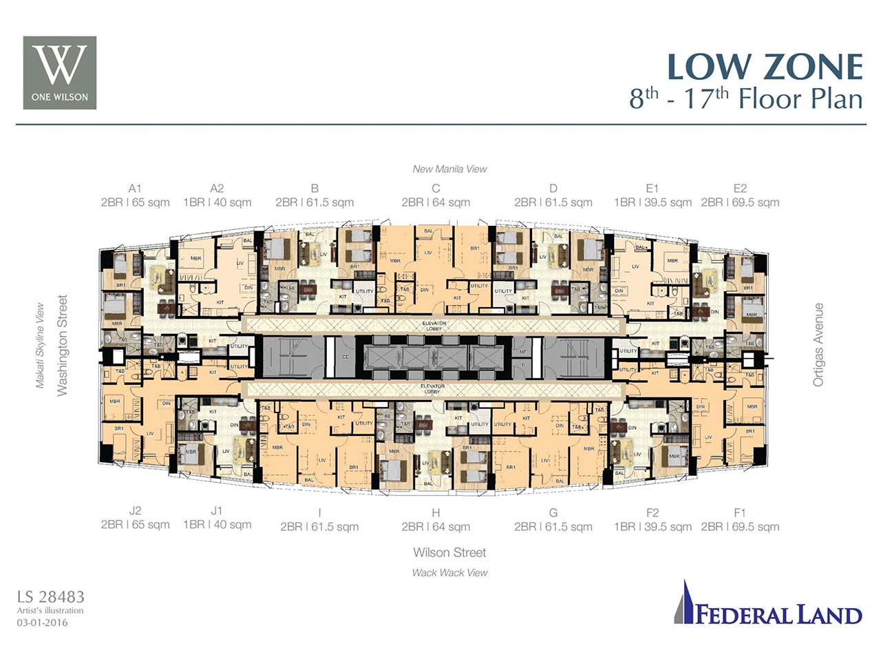 One Wilson Square Greenhills Federal Land Real Estate